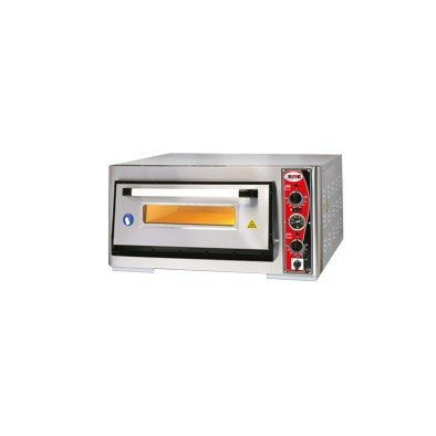 GMG Pizza Fırını PF6262E-T Tek Katlı-380 V-içi 62x62 cm