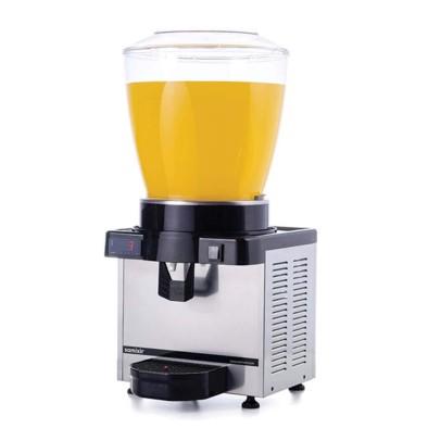 Ayranlık-22 litre soğuk içecek dispenseri-karıştırıcılı-dijital-inox