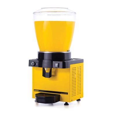 Ayranlık-22 litre soğuk içecek dispenseri-karıştırıcılı-manuel-sarı