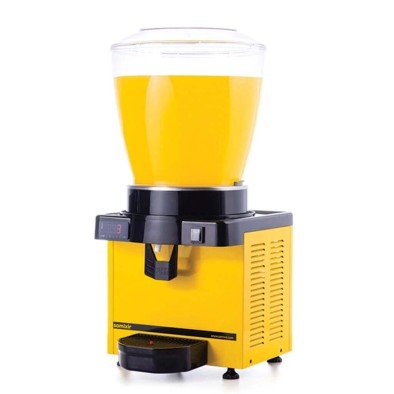 Ayranlık-22 litre soğuk içecek dispenseri-karıştırıcılı-dijital-sarı