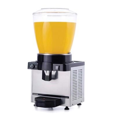 Ayranlık-22 litre soğuk içecek dispenseri-karıştırıcılı-manuel-inox