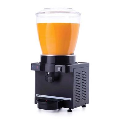 Ayranlık-22 litre soğuk içecek dispenseri-karıştırıcılı-dijital-siyah