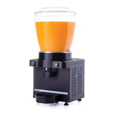 Ayranlık-22 litre soğuk içecek dispenseri-karıştırıcılı-manuel-siyah