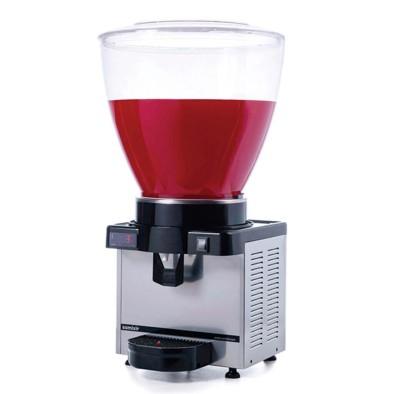 Ayranlık-40 litre soğuk içecek dispenseri-karıştırıcılı-dijital-inox
