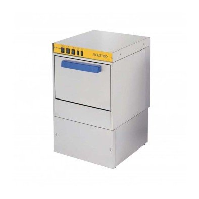 Ndustrio WZ-50-D Tezgahaltı Bulaşık Makinesi, 500 Tabak/Saat, Drenaj Pompalı