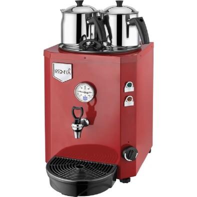 Remta Jumbo Kırmızı Çay Makinesi 13 litre 2 demlik dahil