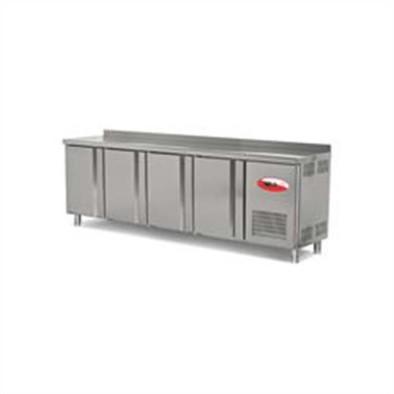 Empero EMP.255.60.01 Tezgah Tipi Buzdolabı (Fanlı) 4 Kapılı 255x60x85 cm