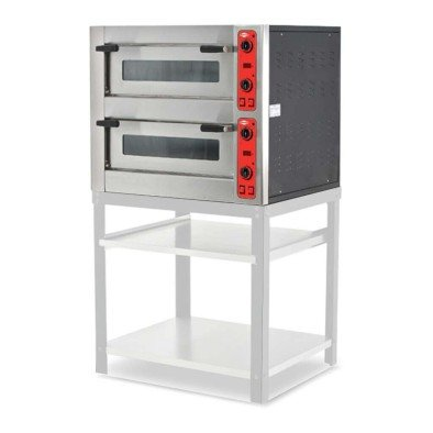 Empero EMP.5+5 Pizza Fırını - Çift Katlı - Elektrikli - (4+4) x 30 cm Pizza kapasiteli
