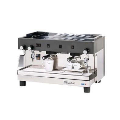 Espresso Kahve Mak. - 2 grup - tam otomatik - Magister HRCES 2GR TC - yüksek kasa