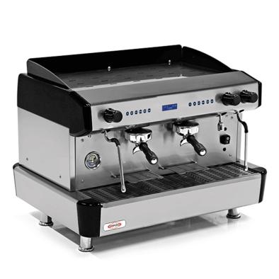Espresso Kahve Mak. - 2 grup - tam otomatik - Empero EMP.CPC.2GB-D - siyah