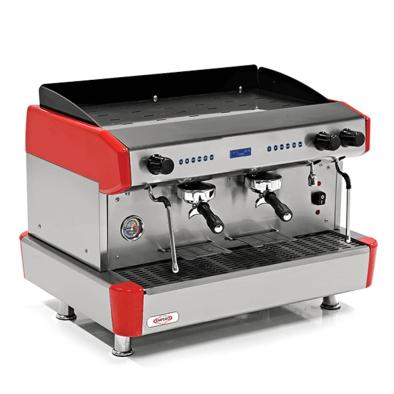 Espresso Kahve Mak. - 2 grup - tam otomatik - Empero EMP.CPC.2GR-D - kırmızı