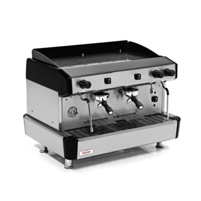 Espresso Kahve Mak. - 2 grup - yarı otomatik - Empero EMP.CPC.2GB - siyah