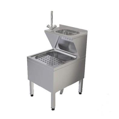 Paspas Yıkama Evyesi - 50x70x90 cm - sabun dispenserli