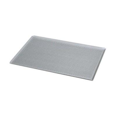 Pastamatik Tavası-Alüminyum-40x60 cm-italyan açılı-delikli