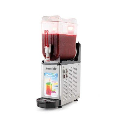 Samixir Slush Mono Allure, Granita, Meyve Suyu Dispenseri, 12 L, İnox