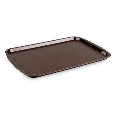 Kapp 46012736 Servis Tepsisi Plastik (ABS) 27x36 cm Kahverengi