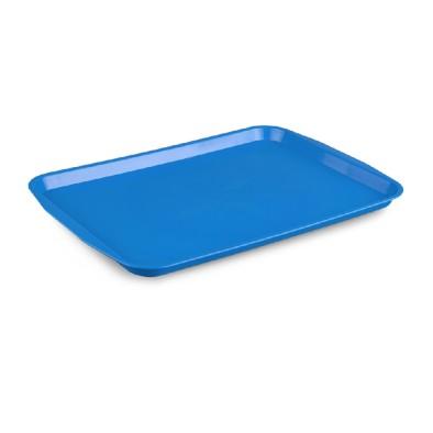 Kapp 46412736 Servis Tepsisi Plastik (ABS) 27x36 cm Mavi