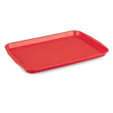 Kapp 46112736 Servis Tepsisi Plastik (ABS) 27x36 cm Kırmızı