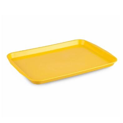 Kapp 46212736 Servis Tepsisi Plastik (ABS) 27x36 cm Sarı