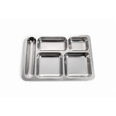 Tabldot (self servis) - Krom AISI 304 CrNi - 0,60 mm